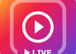 نمایش ویدئو کلیپ در لایو اینستاگرام